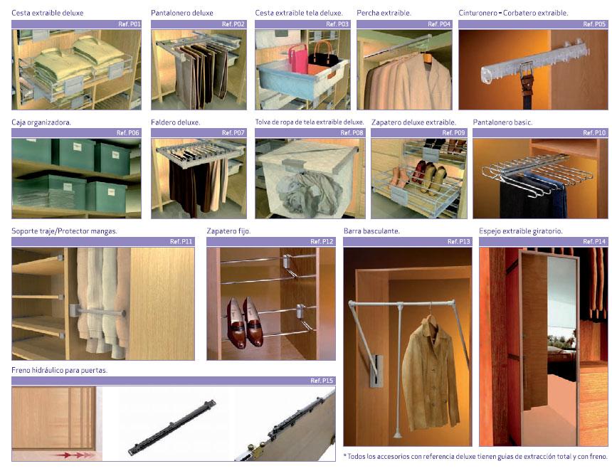 2010 armaves armarios a medida m dulos de armario - Accesorios para armarios roperos ...