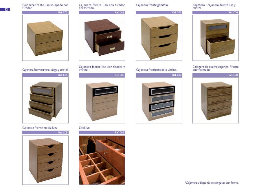 2010 armaves armarios a medida m dulos de armario for Bricomart cajoneras armarios